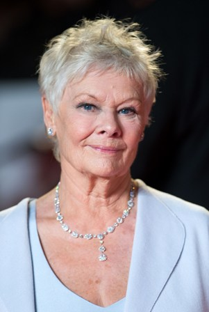 LONDON, ENGLAND - OCTOBER 23:  Dame Judi Dench attends the Royal World Premiere of 'Skyfall' at the Royal Albert Hall on October 23, 2012 in London, England. (Photo by Samir Hussein/Getty Images)