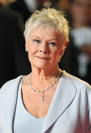 File photo dated 23/10/2012 of Dame Judi Dench who has been named Britain's greatest actor, ahead of figures such as Lord Olivier and Sir John Mills. PRESS ASSOCIATION Photo. Issue date: Friday March 1, 2013. The 78-year-old Oscar winner, who played M for the last time in the James Bond series last year, triumphed in the poll which put women on top, with Dame Maggie Smith finishing second. See PA story SHOWBIZ British. Photo credit should read: Dominic Lipinski/PA Wire