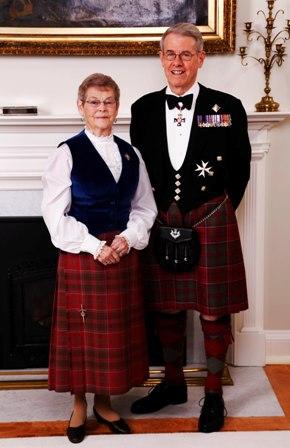 Lt-Gov JJ Grant & Mrs Grant