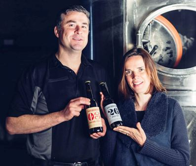 Northbound Brewery owners, David & Martina Rogers