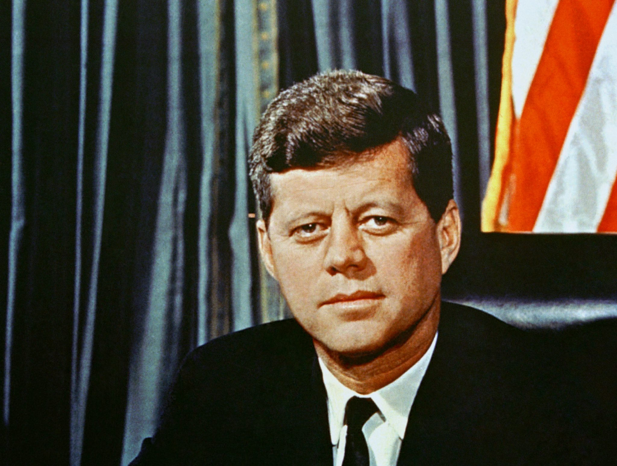 U.S President John F. Kennedy, 1963 (AP Photo)
