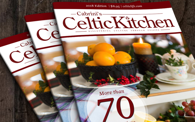 CABRINI'S CELTIC KITCHEN COOKBOOK!