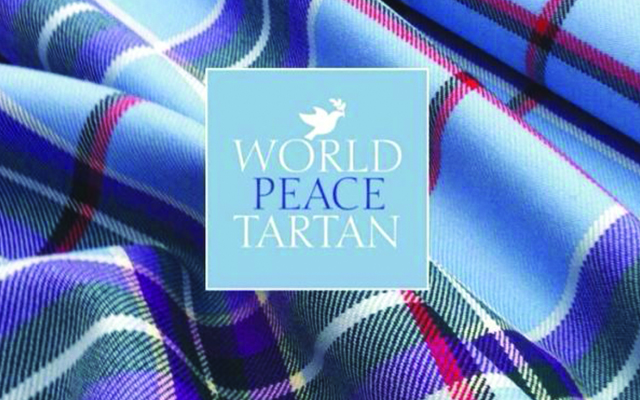 WORLD PEACE TARTAN!