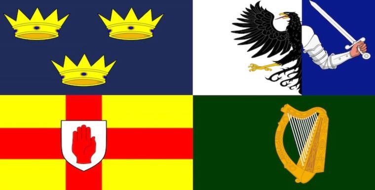 Eire's 4 Provinces