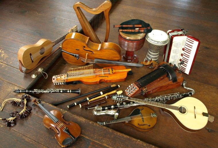Celtic Musical Instruments