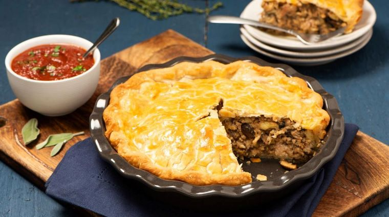 Traditional Acadian Tourtiere