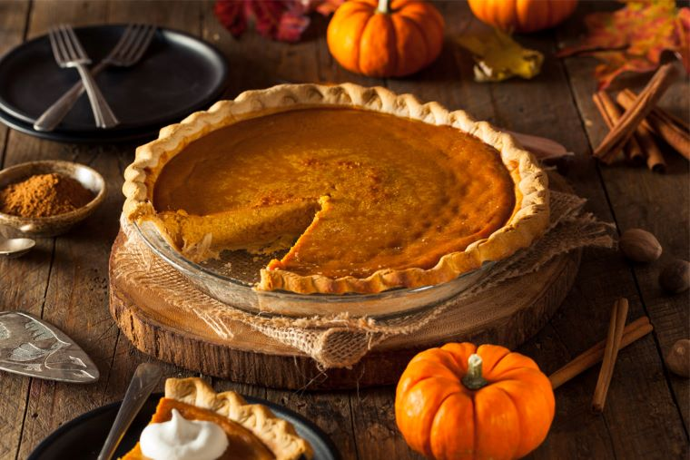Traditional Irish Pumpkin Pie