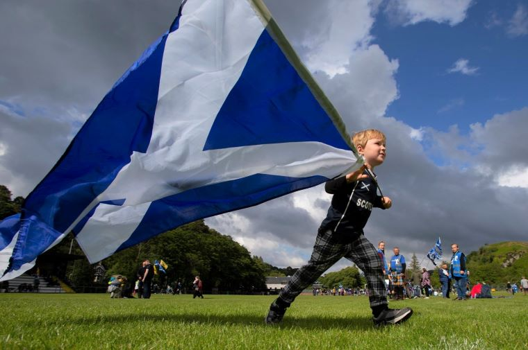 History of the Saltire